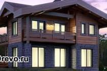 Преимущества домов из комбинированного бруса