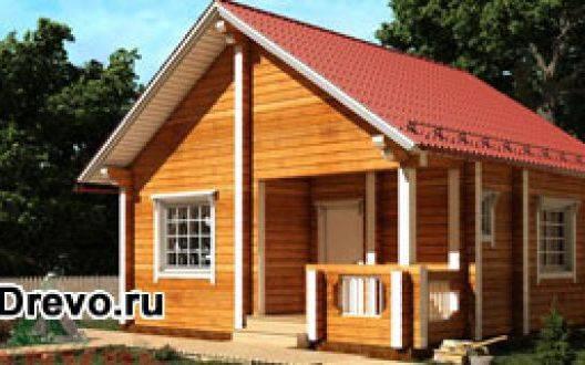 Почему выгодны для строительства маленькие дома из бруса