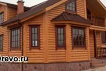 Различные варианты отделки деревянного дома блокхаусом