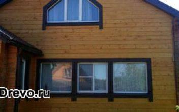 Варианты и способы внешней отделки дома из бруса