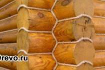 На что влияет декоративная отделка сруба джутовым канатом