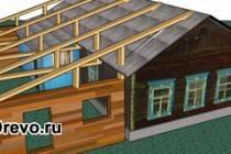 Строительство пристройки из бруса к деревянному дому
