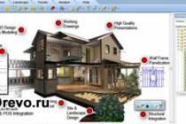Какая нужна программа для конструирования домов из бруса