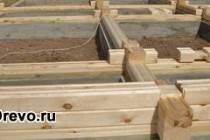 Оптимальная схема сборки и строительства дома из бруса