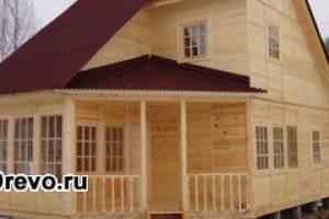 Преимущества технологии сборных домов из бруса