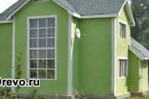 Защита брусового дома снаружи: штукатурка фасада