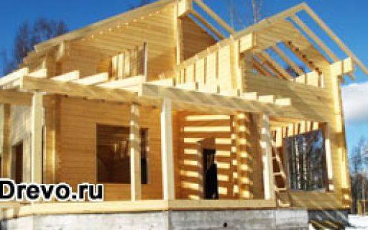 Как самому собрать дом из бруса - клеёного или профилированного