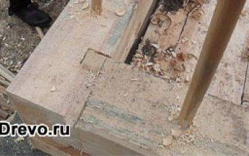 Тонкости соединения бруса при строительстве дома