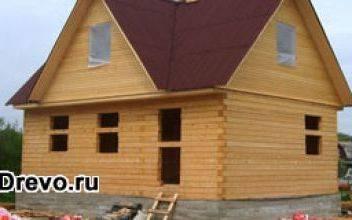 Будет ли экономия при строительстве брусчатого дома