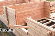 С чего начать строительство дома из бруса своими руками