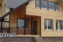 Недостатки и достоинства строительства дома из клеёного бруса