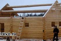Особенности использования полубруса для строительства