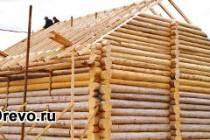 Варианты строительства крыши для сруба