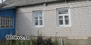 Деревянный дом обложенный кирпичом