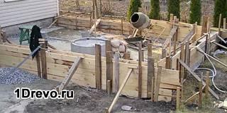 Фундамент под пристройку к деревянному дому