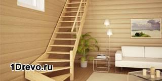 Изготовление и монтаж мансардных лестниц
