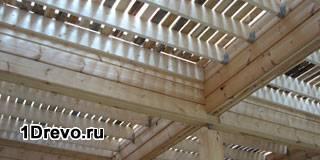 Из пароизоляция бруса дома деревянного