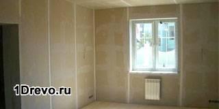 Выравнивание стен в бревенчатом доме