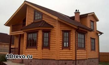 Обшитый дом