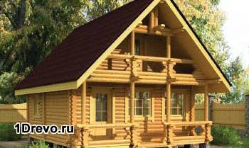 Преимущества дома из бревна