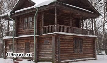 Старый дом под обкладку