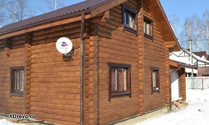 Чем отделать бревенчатый дом