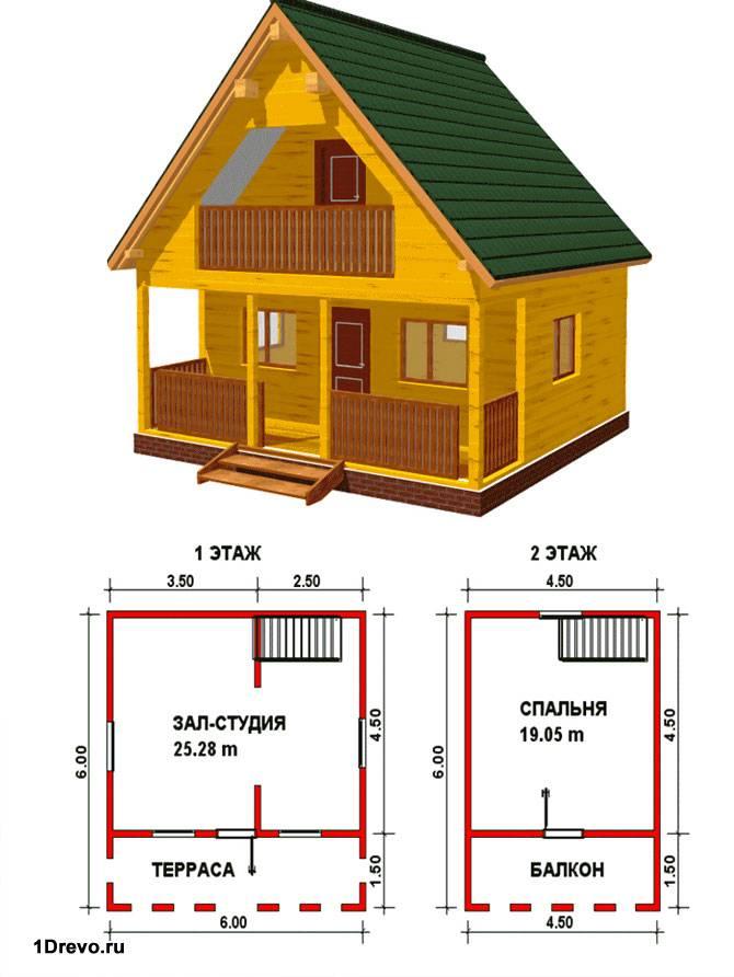 Проект недорогого дома