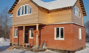 Преимущества комбинированных домов