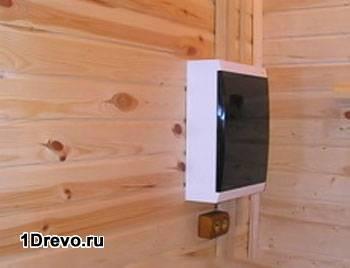 Щитовая в деревянном доме