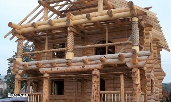 Строительство из кедра