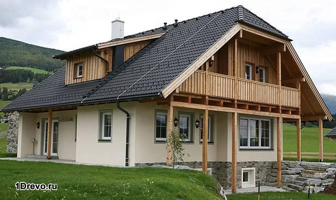 Типичный европейский дом