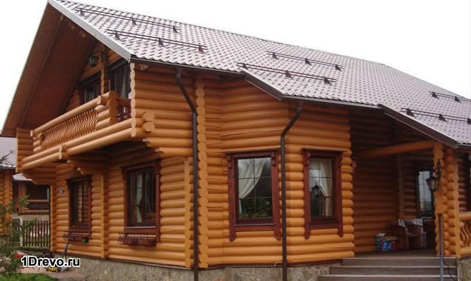 Дом из калиброванного бревна