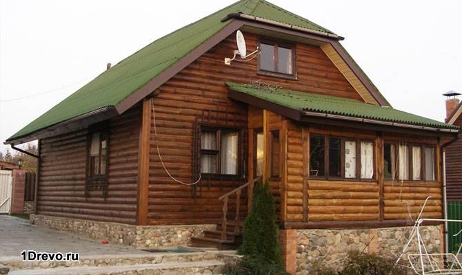 Готовый дом 7х9