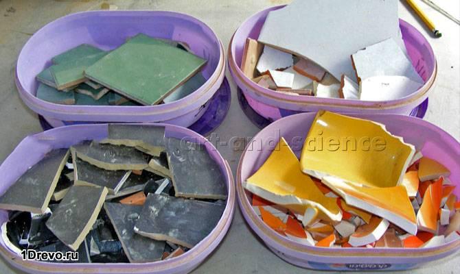 Лом керамической плитки