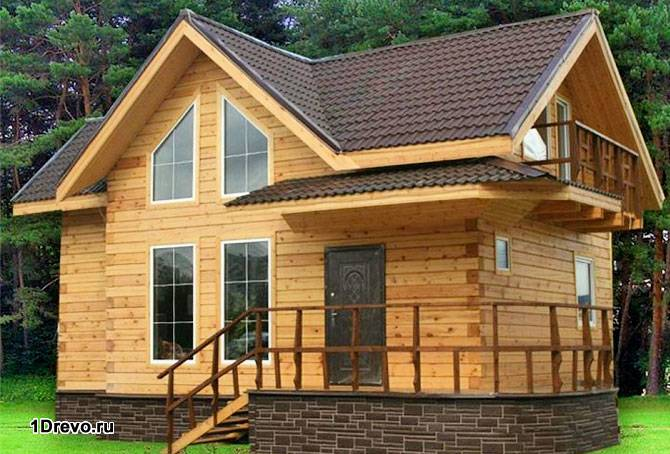Построенный дом