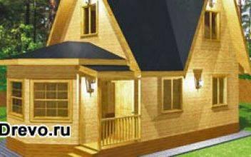 Строительство дачных каркасно-щитовых домов эконом класса