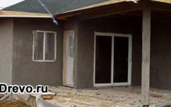 Декоративная штукатурка для фасадов деревянных домов
