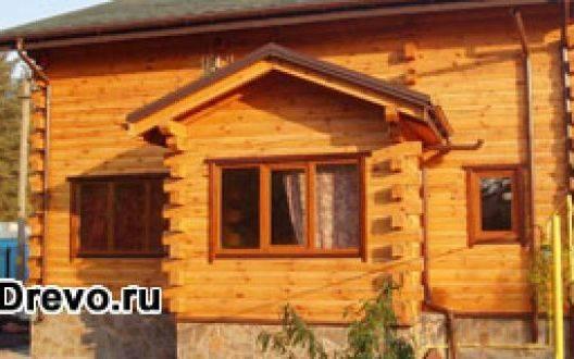 Индивидуальные деревянные дома из бруса 200х200