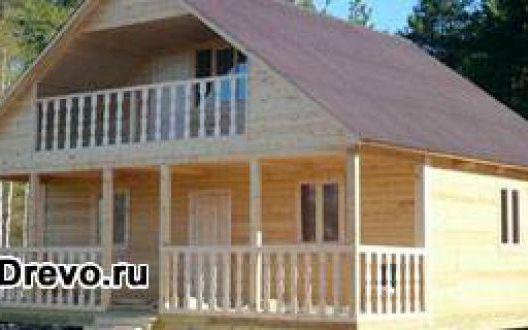 Дома 9х9 из бруса - клеёного или профилированного