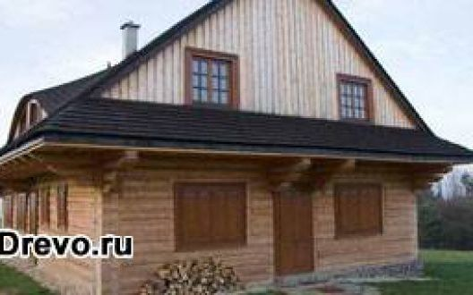 Экономия на материале при строительстве дома из бруса 150х200