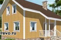 Индивидуальные брусовые дома 6х8
