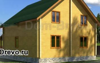 Особенности планировки дома из бруса 8 на 9