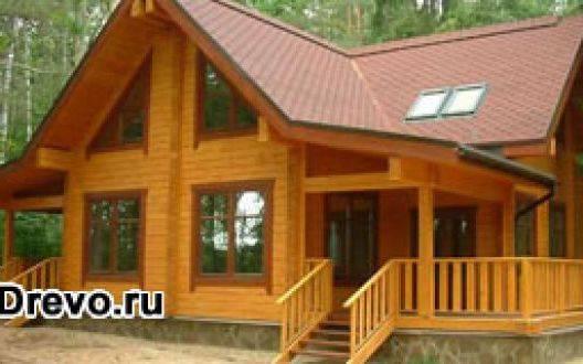 Дом из цельного бруса - в чем его преимущества