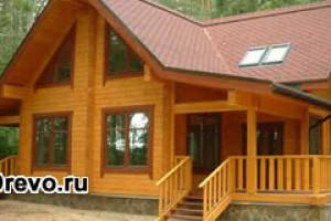 Строительство домов из клеёного бруса 200х200