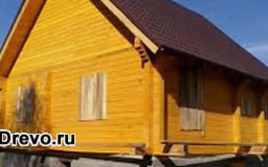 Строительство дома из сухого профилированного бруса 200х200