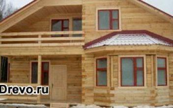 Особенности домов из строганного бруса 200х200