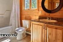 Как сделать душевую комнату в деревянном доме