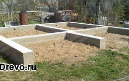 Как грамотно построить фундамент под деревянный дом