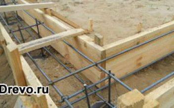 Какой выбрать фундамент под деревянный сруб 6х6