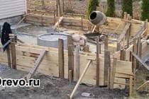 Как сделать фундамент под пристройку к деревянному дому